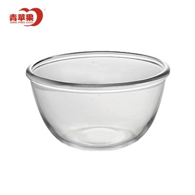 青蘋果鋼化玻璃碗和面盤水果沙拉碗湯面碗家用烘焙打蛋泡面碗
