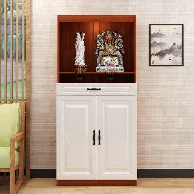 HOTBEE定制佛龛柜供台带家用财神爷供奉桌观音神龛柜关公神像台佛像柜
