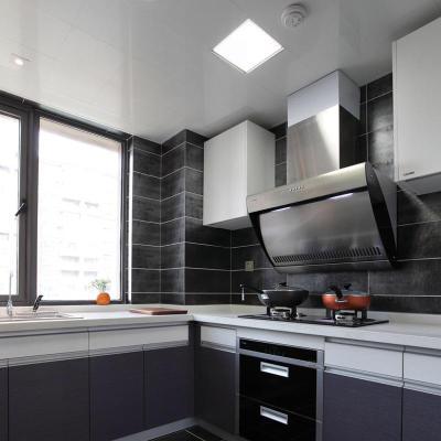 LED吸頂燈廚房燈嵌入式廚衛燈集成吊頂衛生間燈具廁所燈陽臺浴室 30x30方燈20瓦白光