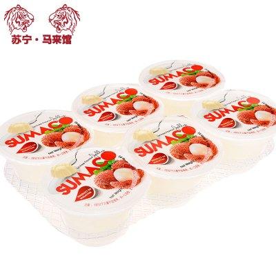 馬來西亞館 素瑪哥/SUMACO 荔枝味果凍(含椰果) 660g*1套