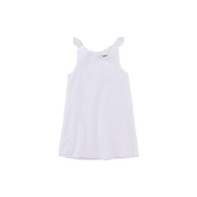 Жижиг улаан буурцагны хүүхдийн хувцас худалдааны төв нь ижил төстэй охидын зуны даавуун нөмрөг биелэгдэнэ юбка нь том хүүхдийн банзал GXQ640KB3 120cm цагаан цамц