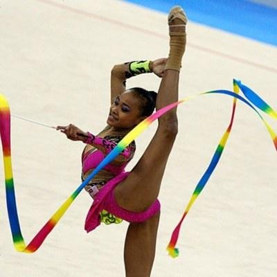 艺术体操彩带 舞蹈彩带 体操彩带 运动会道具 彩带大全 低价
