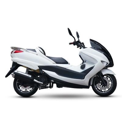 风感觉摩托车踏板车T3电喷150cc 巡洋舰大型街跑助力燃油机车可上牌