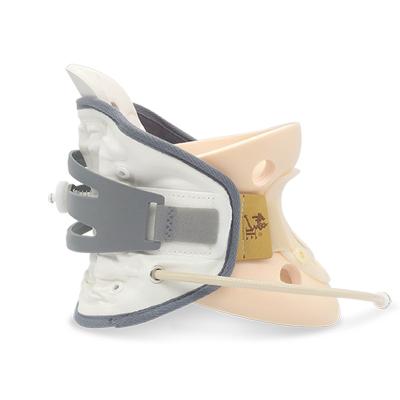 修正颈椎牵引器拉伸器医用家用治疗仪颈托自然曲度固定支撑矫正器按摩器前后双气囊+后置加压旋钮 均码 BA-JQ-B