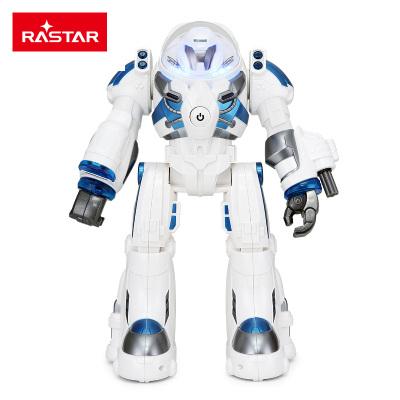 星辉(Rastar)儿童??刂悄艽笮突魅颂?号 儿童电动玩具男孩礼物76960白蓝