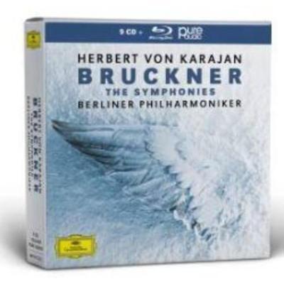 4837137 布鲁克纳:交响曲集 卡拉扬 9CD+蓝光CD 预订