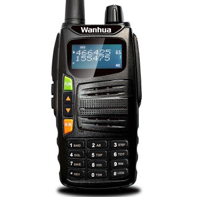 万华(Wanhua) 万华 对讲机 GTS 系列民用双频双段 专业手台 GTS-710黑色