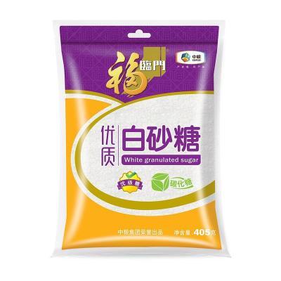 福臨門 優級白砂糖 白糖 碳化糖 調味糖 405g 西點烘焙 中糧出品
