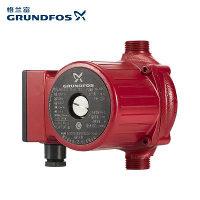 丹麦格兰富地暖循环泵UPBasic 15-6 G1 壁挂炉空气源热泵循环泵地暖家用 24KW适配 隐藏安装静音运行