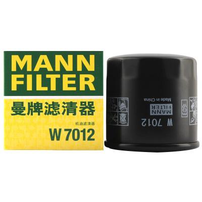 曼牌(MANN)機油濾清器W7012適用于凱越/賽歐/愛唯歐/樂騁/樂馳/五菱宏光/榮光