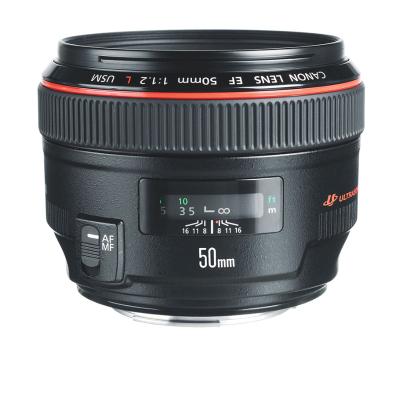 【二手95新】佳能/Canon EF 50mm f/1.2L USM 單反相機中焦人像鏡頭紅圈