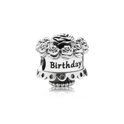 PANDORA 潘多拉 銀飾掛件可愛蛋糕串珠 791289