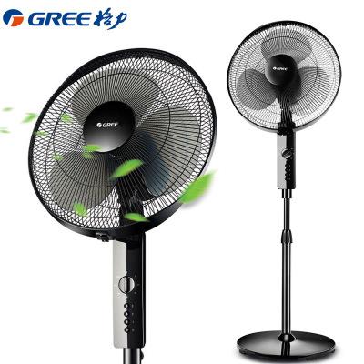 格力(GREE) 电风扇 FD-4012-WG 机械落地扇智能定时3档风速全铜电机节能静音升降扇立式电扇台式 台扇