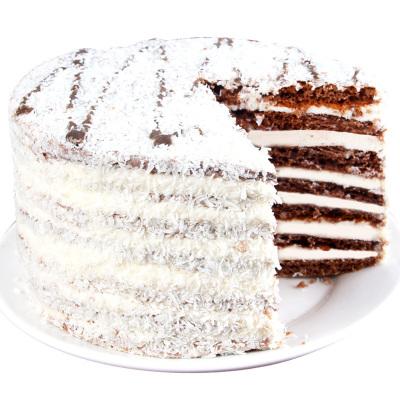 斯戈夫SAMKOND俄羅斯原裝進口提拉米蘇蛋糕500g椰蓉味6英寸