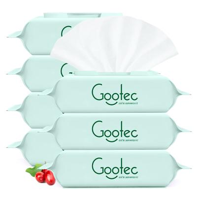 谷斑嬰兒植萃柔濕巾80抽*7包裝 匠系列 蔓越莓精華