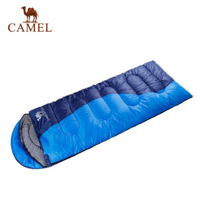 CAMEL駱駝戶外睡袋 1.35kg可拼接雙人旅行露營室內成人睡袋
