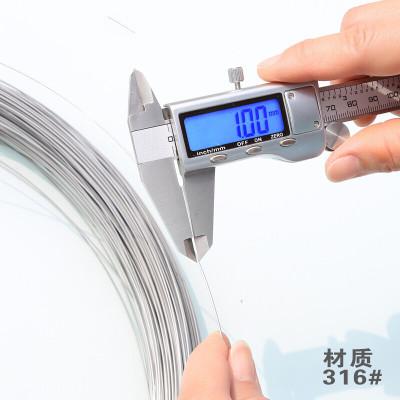 304不銹鋼焊絲316氬弧焊焊絲201不銹鋼焊接焊條0.8/1.0/1.2/2.0 米白色1.0焊絲/316#/5kg