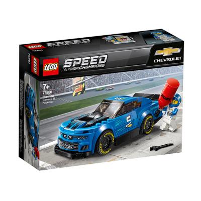 LEGO 樂高 Speed賽車系列 雪佛蘭卡羅ZL1賽車75891 積木玩具