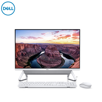 戴尔(DELL)灵越 7790 27英寸屏 全新第十代酷睿 商用 家用一体机台式电脑(Intel i5-10210U 8G 512GB固态 集显 无光驱) 微边框 96%屏占比