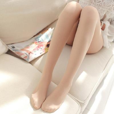80D春秋款天鹅绒连裤袜连袜踩脚加档加大码舞蹈袜光腿女丝袜