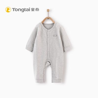 童泰2019年秋冬新款婴儿衣服1-18月男女宝宝连体衣婴儿家居连体衣