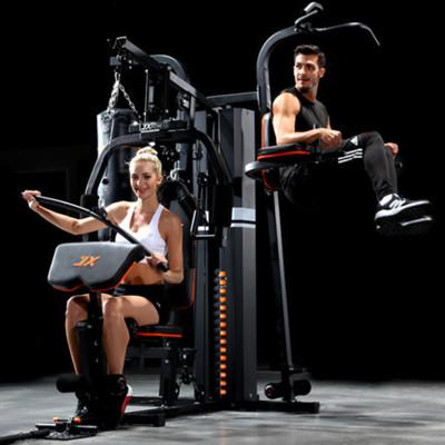 軍霞JX-DS930家用三人站大型器械力量訓練套裝組合多功能健身器材