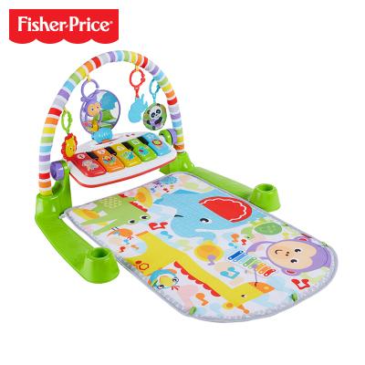 費雪Fisher-Price 嬰幼兒寶寶豪華升級版音樂鋼琴繽紛健身架器 安撫哄睡兒童玩具 0-36個月 FWT06