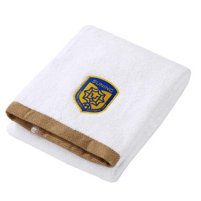 蘇寧足球俱樂部2020新品運動大毛巾 洗臉家用成人擦臉巾全棉吸水加厚毛巾