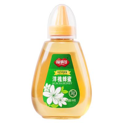 福事多洋槐蜂蜜500g 瓶裝液態蜜天然農家野生純土蜜無添加 滋補蜂蜜