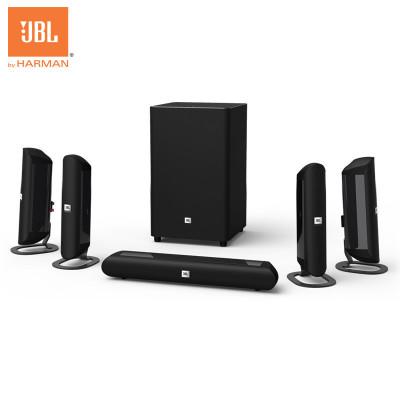 JBL CINEMA 625 無線藍牙5.1家庭影院音響套裝家用客廳電視音箱重低音炮音箱