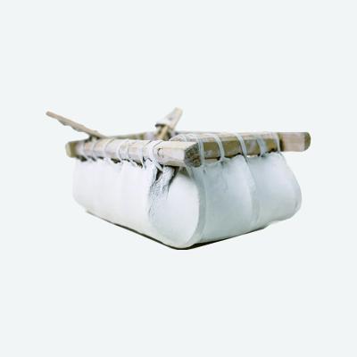 【中華特色館】西藏館 番德林手工裝飾品 家庭裝 真牛皮 紀念品牛皮船
