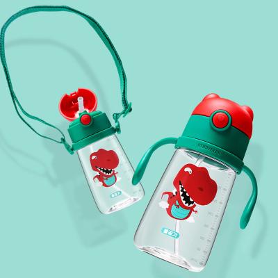 杯具熊兒童水杯幼兒園寶寶防漏吸管杯 兒童防摔防嗆學飲杯 BEDDYBEAR