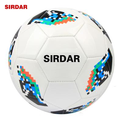 SIRDAR薩達成人5號黑白足球PU訓練比賽用球五號中小學生兒童機縫足球