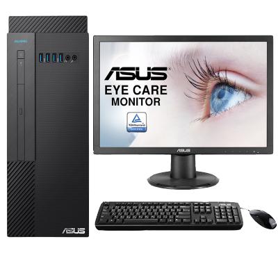 华硕(ASUS)商用台式电脑D642MF 21.5英寸(I3 9100 4G 1T DOS )