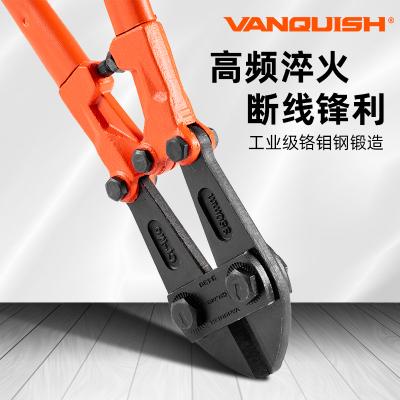 萬創(VANQUISH)工業級斷線鉗鋼絲鉗剪建筑鋼筋鉗五金工具3432