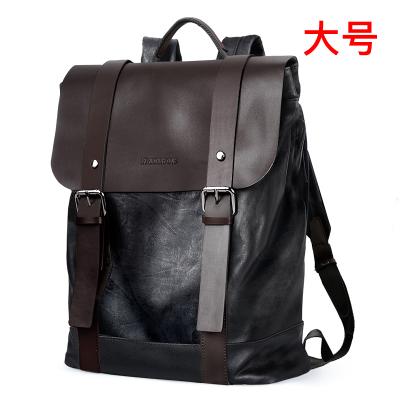 帕迪欧韩版男包双肩包男女士背包学生书包男时尚潮流休闲青年英伦