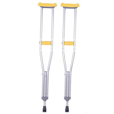 家庭保健养生老人腋下拐杖单拐铝合金防滑 老年老人手杖残疾人双拐棍