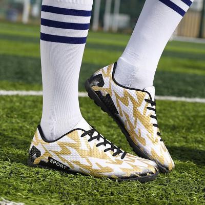珂卡慕(KEKAMU) 迪 卡儂 足球鞋男女成人儿童足球鞋TF碎丁训练球鞋2019新款迪卡卡儂