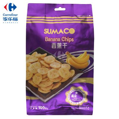 【家乐福】素玛哥(Sumaco)香蕉干100克