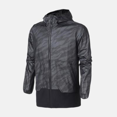 阿迪达斯(adidas)秋季新款男EI WB CAMO运动宽松梭织夹克 DM5191