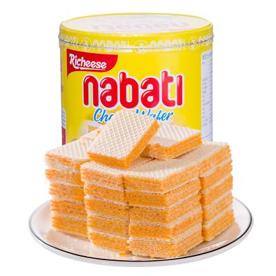 印尼進口麗芝士納寶帝奶酪芝士威化餅干350g/罐免郵知名品牌零食品