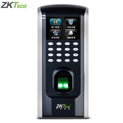 中控(zkteco)F7門禁機 指紋門禁機考勤機 考勤門禁一體機 安裝簡單彩屏網絡打卡機