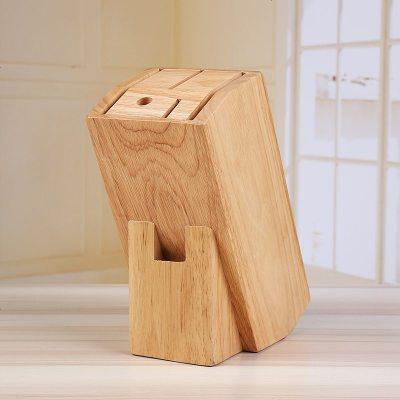 多功能實木刀座木質創意菜刀收納盒木頭木制刀架放刀具的架子廚房