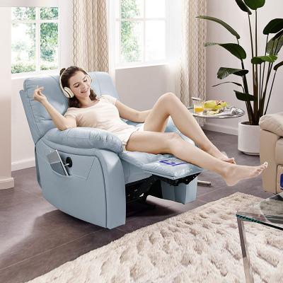 芝华仕头等舱功能沙发真皮电动单椅休闲简约客厅小户型家具现代皮质轻奢风单人位懒人躺椅家居头层牛皮储物沙发升级版831BM