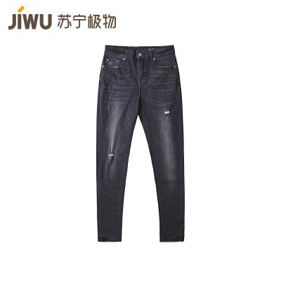 JIWU брэндийн эмэгтэй jeans-н өмд уранхай загварын хар 28