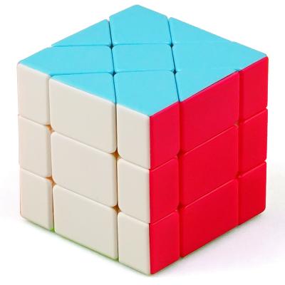圣手7217A移棱魔方 專業設魔方設計異形魔方移棱三階變體魔方兒童益智玩具減壓早教魔方