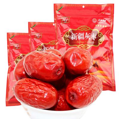 【卿卿雨】新疆 若羌灰棗500g×3袋 比和田棗還要好吃的 紅棗