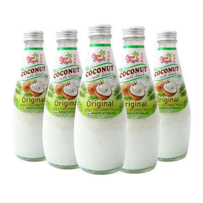 泰國進口 可可優 原味椰子飲料(含椰子果肉) 290ml*5瓶裝