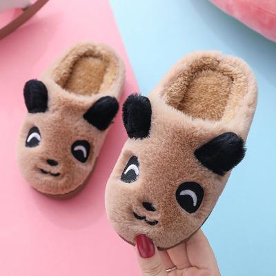 兒童棉拖鞋冬季2019新款保暖男女童小學生包跟親子款寶寶地板棉鞋
