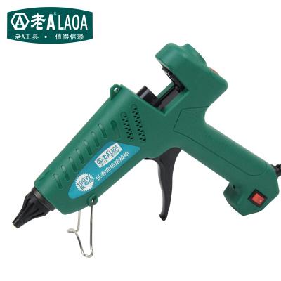 老A(LAOA)熱熔膠 調溫熱膠 大功率帶開關膠加熱熔膠棒 100W膠槍(無膠棒)